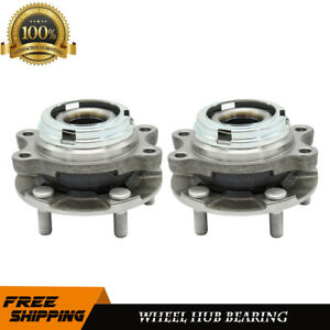 2 Premium Front Wheel Hub Bearing Assembly Fits 07 12 Nissan Altima