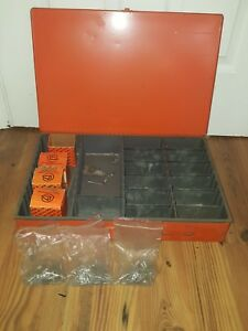 Vintage Dyna Systems Storage Drawer Small Parts Metal Cabinet Organizer Tray