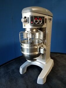 Hobart Legacy 60 Quart Pizza Dough Mixer With Attachments 200v 240v Hl662