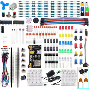 New Solderless Breadboard Protoboard 830 Tie Point Mb 102 Test Circuit Pcb Set