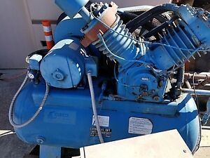 Kellogg American Model A462tvx Tank Mounted Air Compressor With Air Dryer