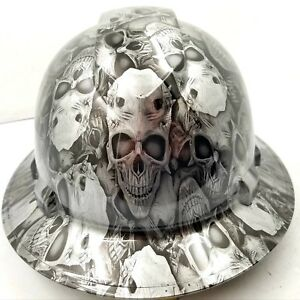 Hard Hat Full Brim American Flags Custom Hydro Dipped Full Brim Best Price