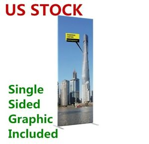 25mm Aluminum Tube Exhibition Booth Tension Fabric Display With Graphic Printing