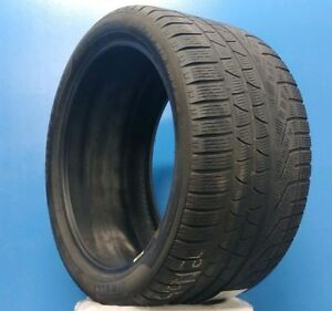 One 1 Pirelli Sottozero Winter 240 Serie Ii Tire 295 35r19 100v 6 32nd Dot12