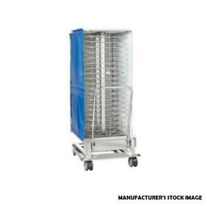 Reduced Rational Commercial Mobile 100 Plate Rack W Thermocover Model 60 22 109