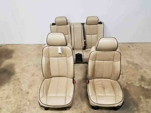 2006 2007 2008 2009 2010 Hummer H3 Front 2nd Row Leather Electric Seats Oem