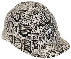 Hard Hat Hydro Dipped Snakeskin White W Free Brb Customs T shirt