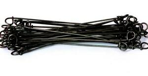 8 Double Loop Rebar Wire Tie 16ga Black Annealed 5000 Per Bag 16ba8