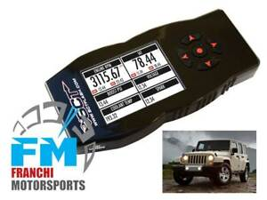 Sct X4 7215 Tuner Programmer For 2012 To 2014 Jeep Wrangler Jk With 3 6 Engine