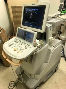 Philips Ie33 Ultrasound Machine G Cart probes Available