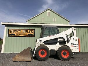 2011 Bobcat S770 Skid Steer Loader Enclosed Cab Heat ac 2sp 92hp Cheap Shipping
