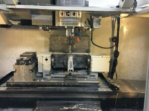 Used Haas Tr 160 Brushless Trunnion Sigma 1 Rotary Table Indexer 4th