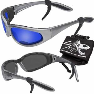 Hercules Safety Glasses Gray Frame Transitions Clear Smoke Yellow And Mirror