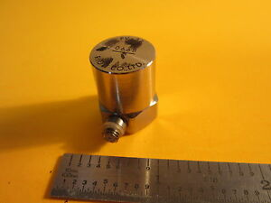 Rion Pv 34 Piezoelectric Accelerometer Made In Japan Calibration Vibration