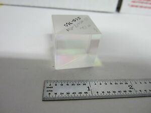 Optical Cube Beam Splitter Laser Optics As Is Bin d2 p 6