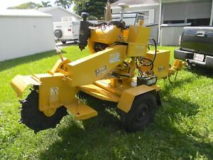 Rayco Rg 1635a Towable Stump Grinder Only 6 Hours Government Owned Watch Videos