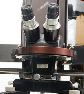 Bausch Lomb Stereozoom 240 Photoreconnaissance Microscope With 10 W f Eyepiece