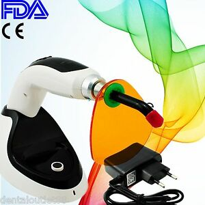 Black Led Dental Curing Light Lamp 2000mw Teeth Whitening Accelerator Cure