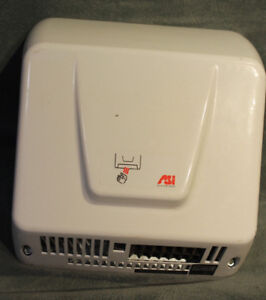Asi 0160 Compact Hands Free Automatic Air Hand Dryer