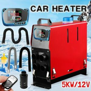 5000w Air Diesel Heater Remote Lcd Monitor 5kw 12v For Trucks Boats Bus Car Ma