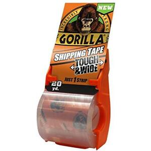 Packing Tape Tough Wide With Dispenser 2 83 X 20 Yd Clear