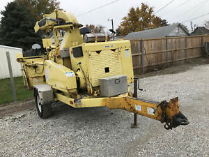 2006 Bandit Industries 1590xp 18 Drum Woodchipper Trailer Mounted Forestry