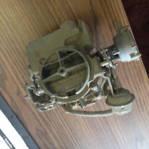 Rochester 2 Jet Carb 17058105 Chevy Monza V8 305 5 0l For Parts