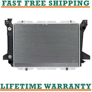 Radiator For 85 97 Ford Bronco F 150 F 250 F 350 5 0l 5 8l 7 5l V8 2 Row