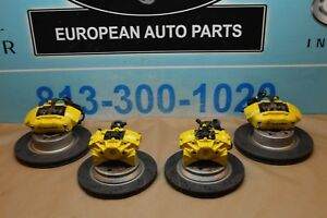 W220 Mercedes S500 S430 Cl500 Front Rear Brembo Brake Calipers Rotors