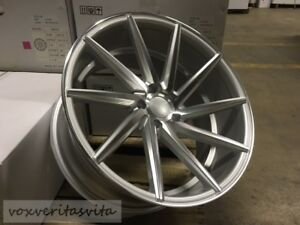 20 Swirl Style Silver Wheels Rims Fits Mercedes Benz S Class S320 S430 S500