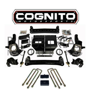 Cognito Motorsports 2011 2019 Gm 2500hd 4wd 4 Inch Stage 1 Lift Kit Fox Shocks