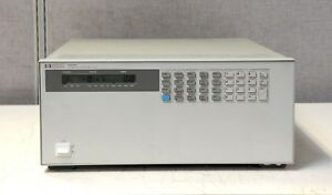 Hp Agilent Keysight 6050a 1800 Watt Dc Electronic Load Mainframe W 3x 60504b