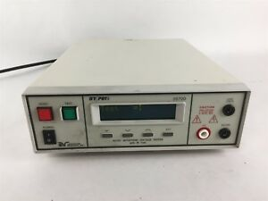 Associated Research 3570d Hypot Ac dc Voltage Tester Ac 0 5000v Dc 0 6000v