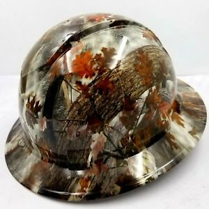 Hard Hat Full Brim Fall Winter Camo Custom Hydro Dipped Full Brim Best Price