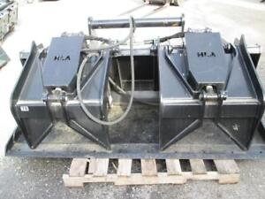 Hla 78 Industrial Grapple Bucket For Bobcat V723 V638 Versahandlers Unused