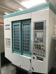 Brother Tc 22a Drill And Tap Center 1999 Nikken 4 5th Axis Rotary Table 26 atc