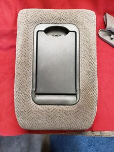95 98 Chevrolet Silverado Gmc Sierra Oem Center Console Gray