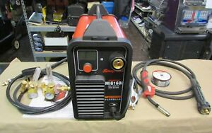 Very Nice Snap on Synergic Inverter Mig160i Mig Welder 160a Gas gasless