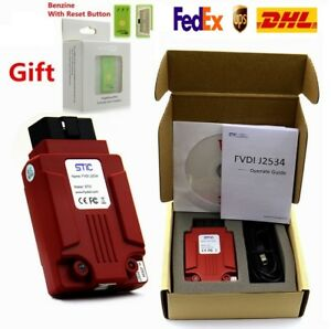 Newest Fvdi J2534 Diagnostic Tool For Vcm For Mazda Ford Ids Forscan Dhl