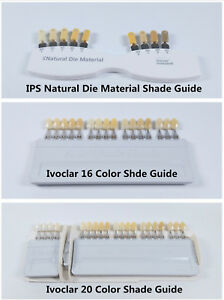 Vita Dental Teeth Shade Guide Ivoclar Vivadent A d 16 Color Porcelain Material