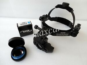 Indirect Ophthalmoscope With Volk 20d Aspheric Lens