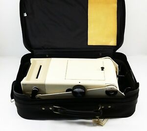 Vintage Titmus Ii s Portable Vision Tester Screener With Carrying Case 4740072