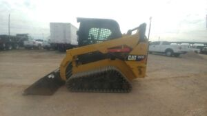 2014 Caterpillar 257d Cab A c Track Skid Steer Hyd Quick Attach 73hp 399hrs Used