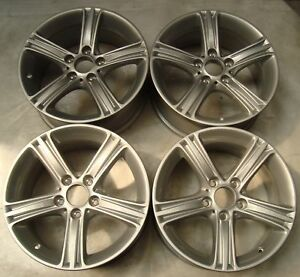4 Bmw Alloy Wheels Styling 393 7 5jx17 Et37 6796242 3er F30 F31 4 F32 F33 F3097