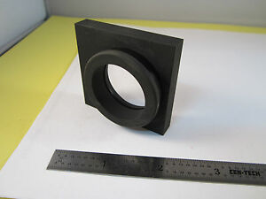 Optical Mounted Lens From Monochromator Bausch Lomb Optics Bin c1 19