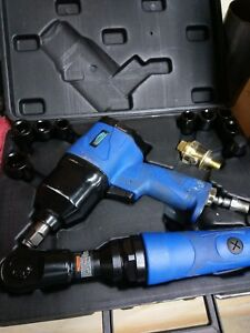 Power Torque Impact Wrench And Ratchet Set