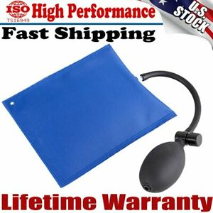 Car Air Pump Wedge Inflatable Bag Car Lock Out Hand Tool Set For Ford Chevy Us