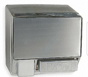 New Commercial Surface Mount Dayton Warm Air Hand Dryer Dryers 5w635 A Aluminum