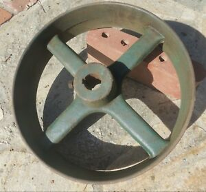 Vintage Antique John Deere Flat Belt Pulley Hit Miss Engine