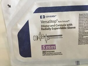 Covidien Versastep 5mm Ref Vs101005 6pcs